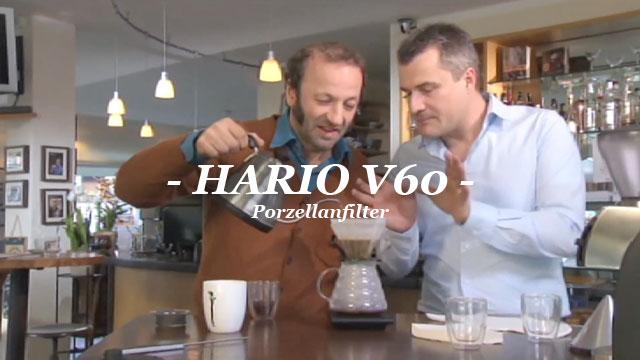 HARIO V60 Porzellanfilter